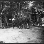 Soldats allemands soignés à l'hôpital.