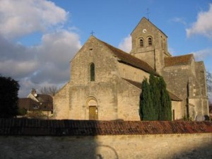 entree eglise rosnay