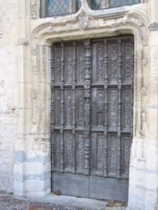 portail eglise savigny